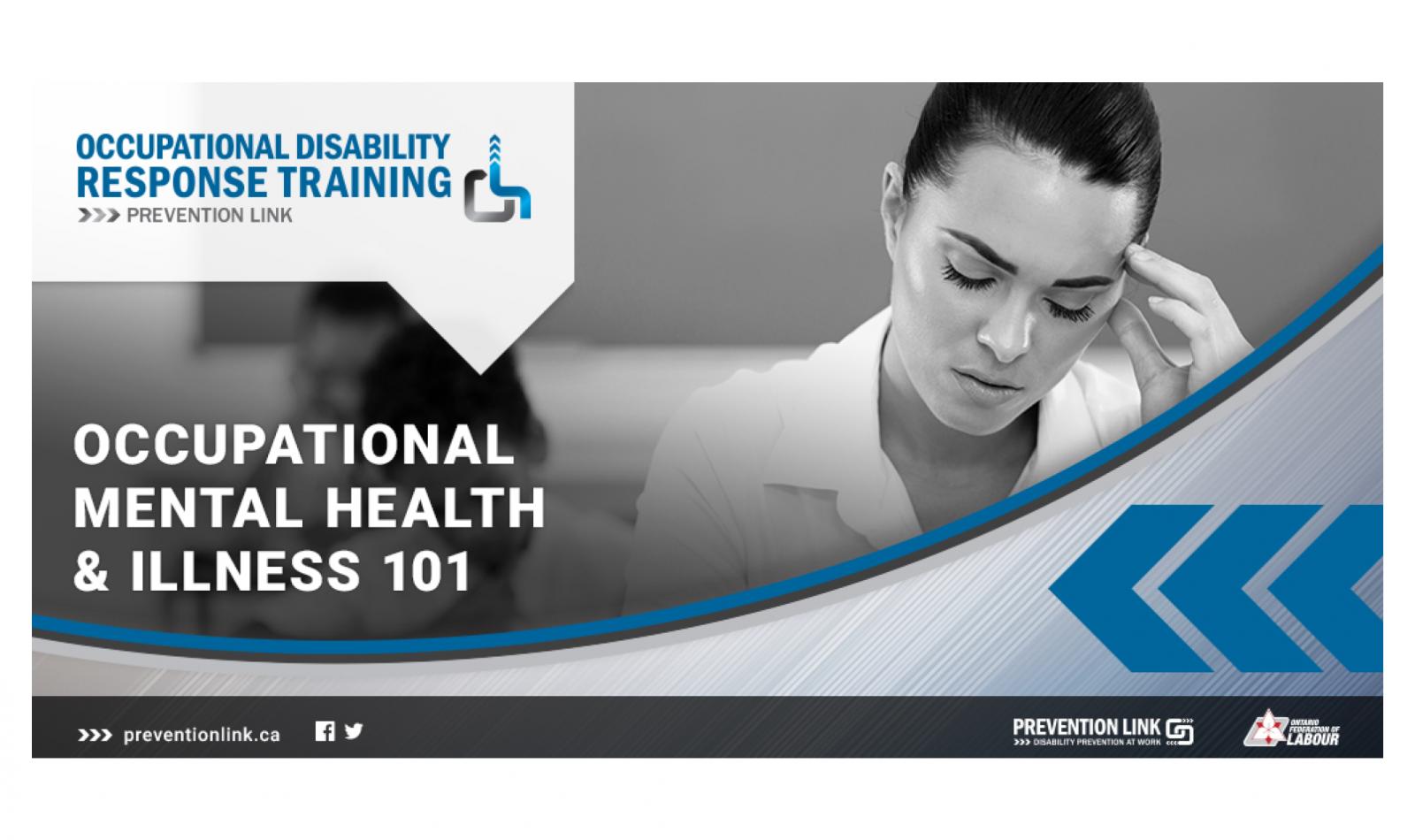 Occupational Mental Health & Illness 101