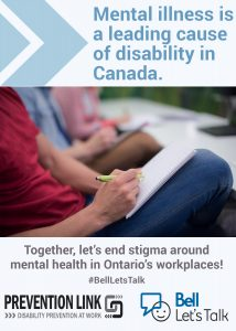 Bell Let S Talk Occupational Mental Health