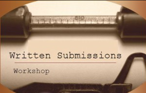 written submission