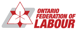 Ontario Federation of Labour logo