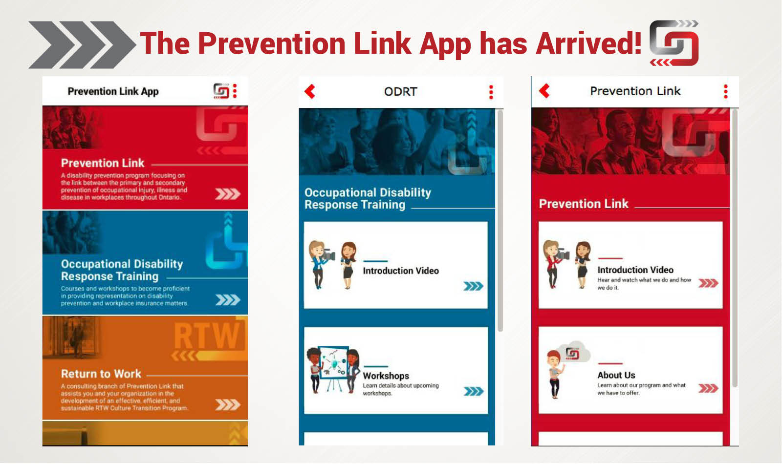 Download the Prevention Link App